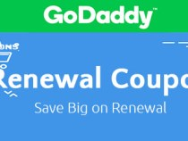 GoDaddy Renewal Coupon Codes – Save Up To 27% Off