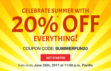 domain.com save 20% everything