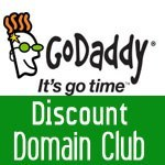GoDaddy Discount Domain Club Coupon – Up to 50% Off