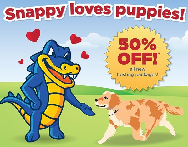HostGator Coupon to get 50% off Shared Hosting!