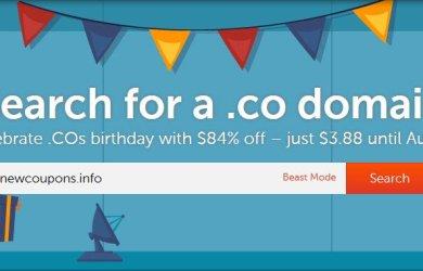 namecheap cheap .CO domain for $3.88