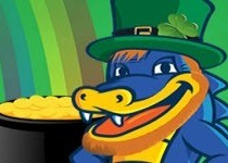 HostGator discount 55% for new hosting on St. Patrick's Day!