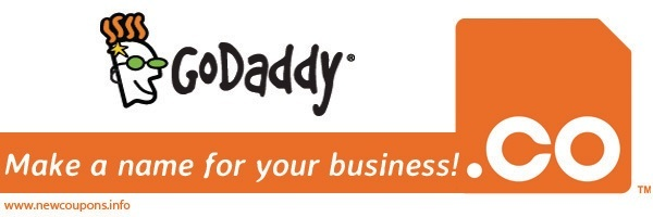 $4.99 GoDaddy .CO Domain Coupon Code - June 2019