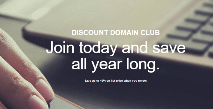50% Off GoDaddy Discount Domain Club Coupon December 2019