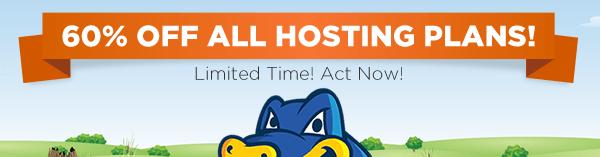 HostGator Promo Code 60% off New Hosting