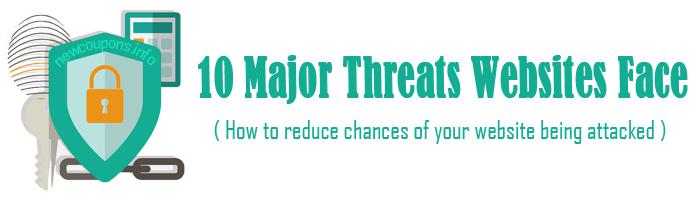 10 Major Threats Websites Face