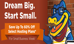 HostGator Promo Code: 60% off for small Business !