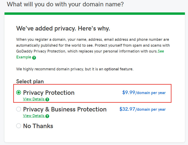 .Online Domain Only $0.99 + $1 Privacy Protection at GoDaddy