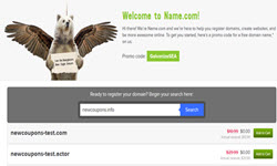 free com net domain from namedotcom