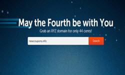 44 cents xyz domain use namechaep coupon