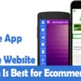 mobile website and mobile app