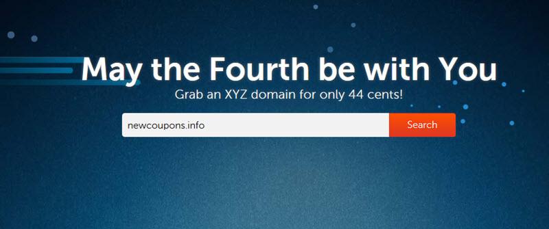 NameCheap .XYZ domain coupon for just 26 cents.