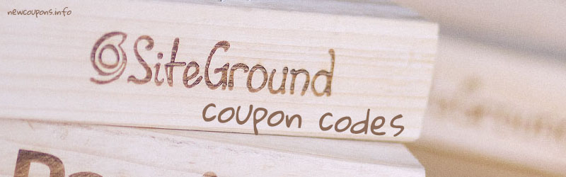 SiteGround Coupon and Promo Codes: $9.95/yr + Free domain