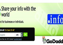 GoDaddy .Info Domain Coupon For Only $0.99/Year