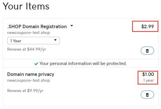 $2.99/yr .Shop Domain Registration from GoDaddy