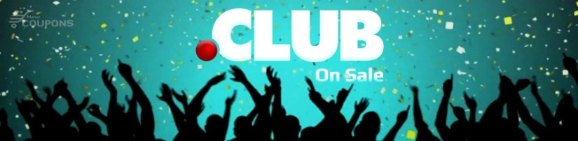 Domain.Com promo code for the .CLUB domain just $1.49