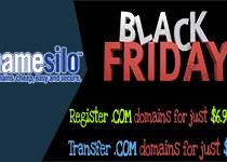 NameSilo Black Friday Coupons: Discount for .Com domains