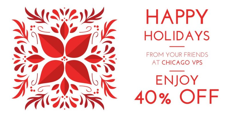 ChicagoVPS Holiday Sale: Save 40% all VPS hosting