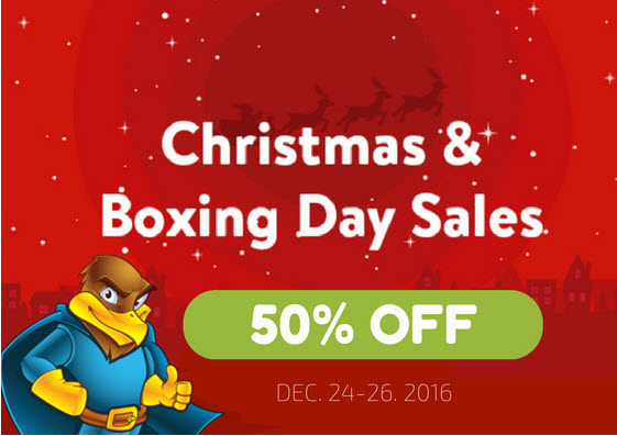 Hawk Host Christmas & Boxing Day Sale! Save 50% new hosting