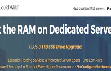 liquidweb deal x2 ram