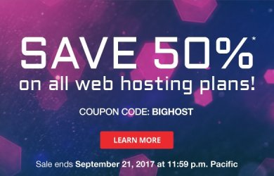 domain.com hosting coupon 50% off all plans