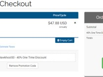 HawkHost 40% coupon for all shared web hosting