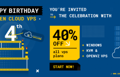 GreenCloudVPS Birthday VPS Offer