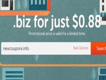 Register .Biz for only $0.88 at NameCheap, FREE WhoisGuard