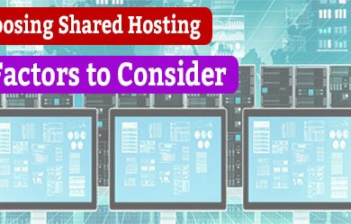 09 factors to consider when choosing shared hosting
