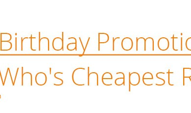 .co birthday promotions