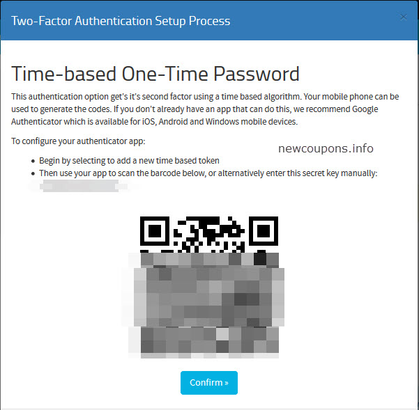 HostUs Introduce Two-Factor Authentication - How Enable It on Your Account