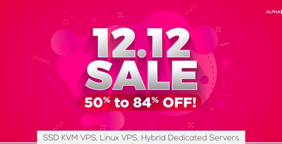 AlphaRacks VPS & Dedicated Servers Sales – Up To 84% Off For Life