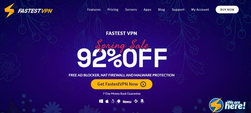 91% Off + $19.99 FastestVPN Lifetime Subscription - August 2019