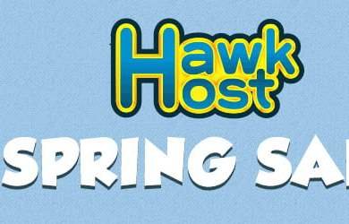 hawkhost spring flash sale - up to 60% off
