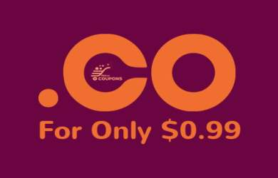 .CO domain for 99 cent