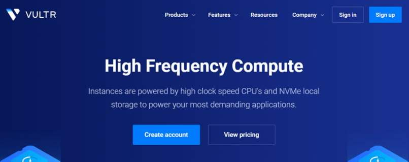 Vultr Launches High Frequency Compute Service - 3+ GHz with NVMe Storage