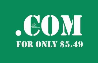$5.49 .COM Promo