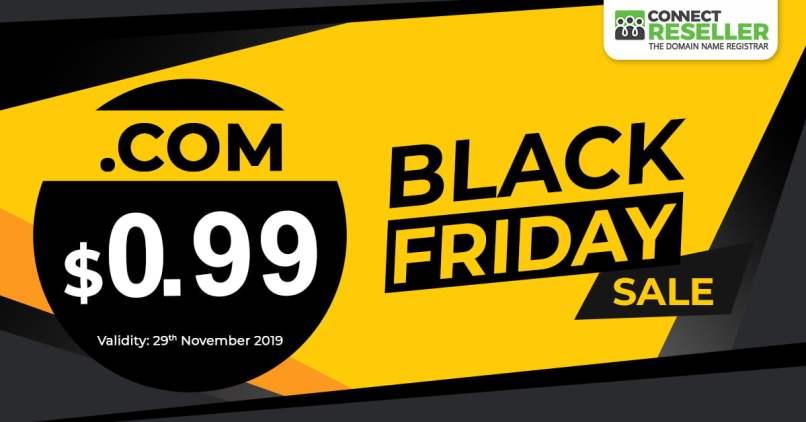 Black Friday Hot Sale! Register .COM For Only $0.99