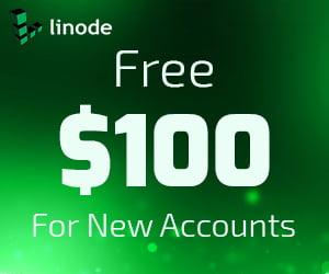 Get Free $100 Credit At Linode