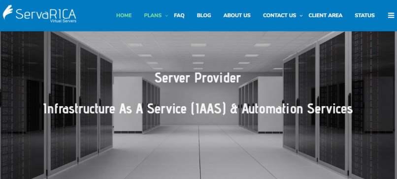 ServaRica - 50% OFF All Storage VPS Plans