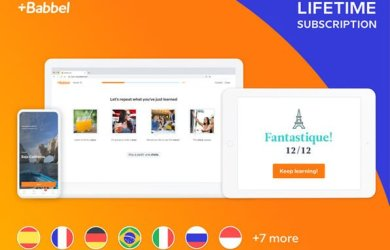babbel lifetime subscription coupon
