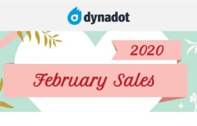 dynadot february domain on sale