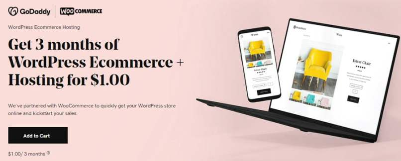 GoDaddy WordPress Ecommerce Hosting Coupon September 2020