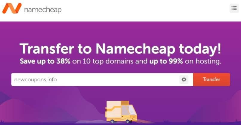 NameCheap - SAVE BIG On Domain Transfers