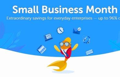 Namecheap Small Business Month Sale
