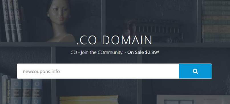 Flash Sale! Register .CO Domain For $2.99 At Dynadot