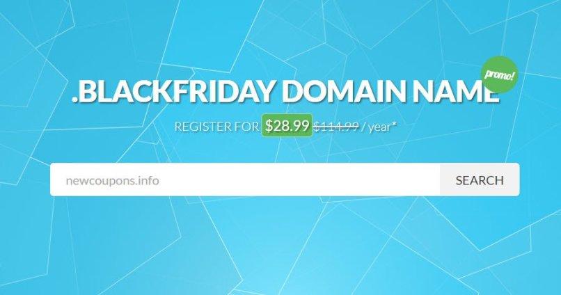 NameSilo - .Blackfriday Domain On Sale For 74% OFF