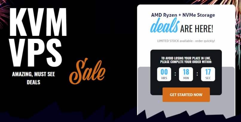 RackNerd Ryzen NVMe KVM VPS Offers - From $14.18/Year