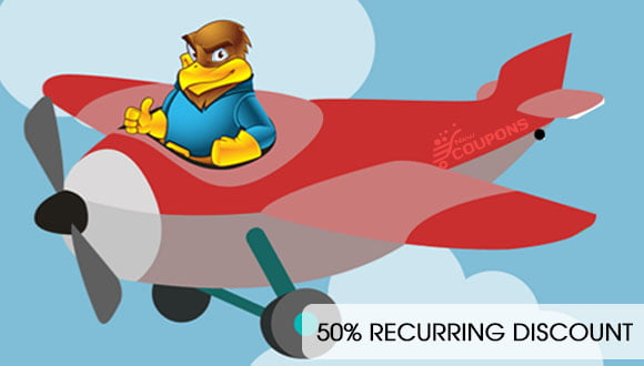 HawkHost - 50% Recurring Discount On Web hosting