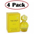 4 Pack of Daisy Dream Sunshine by Marc Jacobs Eau De Toilette Spray 1.7 oz for $295